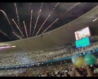 Cerimônia de Abertura do PAN RIO 2007  #CLAUDIOperambulando