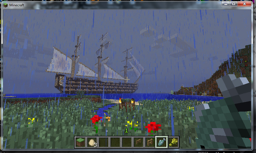 Nelson's Victory Ship ~ Simkraf's Minecraft Victory build … | Flickr