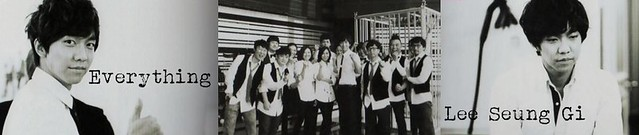 Lee Seung Gi Concert Banner