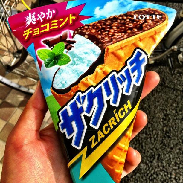 ザクリッチ チョコミント Via Instagram Instagr Am P N Ouh8nhbd Nyaoyamano Flickr