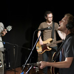 Tue, 07/08/2012 - 9:18pm - The Lumineers perform on 8.7.12 live in WFUV's Studio A. Photo by Andrew Arne.