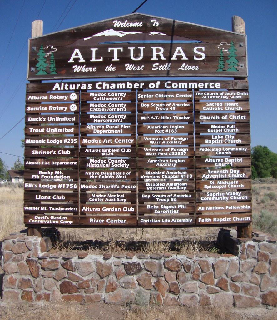 Welcome to Alturas Sign (Alturas, California)   Alturas, Cal…   Flickr