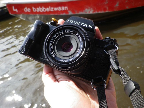 Pentax LX & Pentax m40   by feifei-