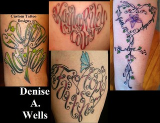 Denise A. Wells Custom Tattoo Designs 2012 | by ♥Denise A. Wells♥