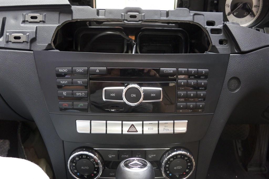 W204 C-Class Facelift Comand Online NTG4 5 Retrofit - Head