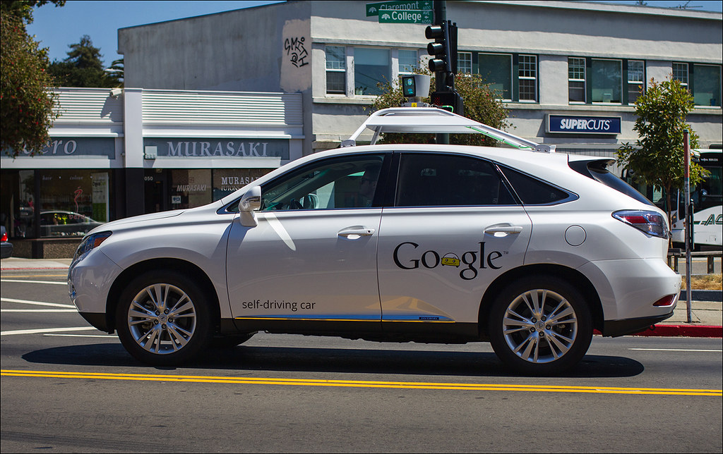 Google Street View Self-Driving Car