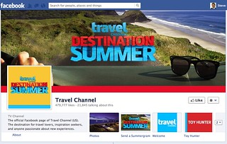 Travel Channel   Top 20 Great Facebook Fan Pages for Business   Social Media in Business   by Social Media in Business Book