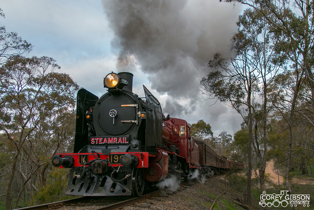 Steamrail - Maldon Weekender by Corey Gibson