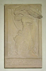 Angel and child by Ellen Rope