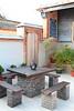 水頭13號民宿(水頭客棧二館)庭院泡茶石桌