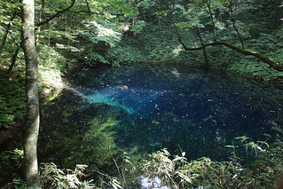 青池, Aoike or blue pond | by kimuchi583