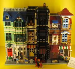 Lego Townhouse Trio