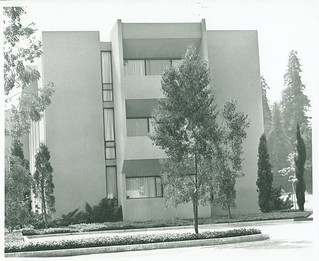 Oldenborg Center soon after its completion in 1966