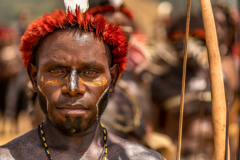 Portrait of The Papuan