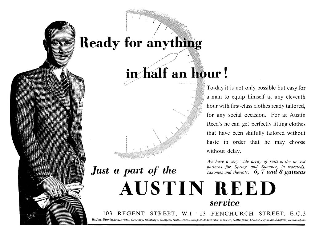 1937 Austin Reed Ad A Photo On Flickriver