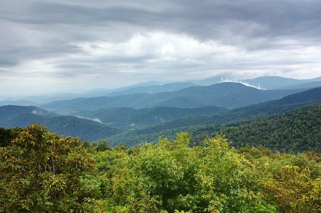 Cloudy Day on Mount Marshall