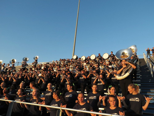 mcneilhighschoolband georgetownstadium