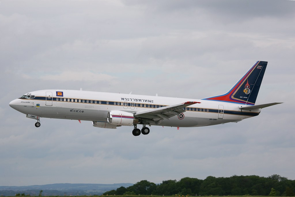 HS CMV   Boeing 737 4Z6   Thailand Royal Thai Air Force