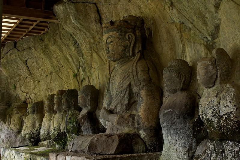 大分:臼杵磨崖仏 Usuki Stone Buddhas, Oita