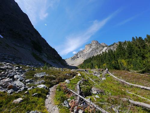 Heading into Easy Pass, North Cascades National Park, Washington