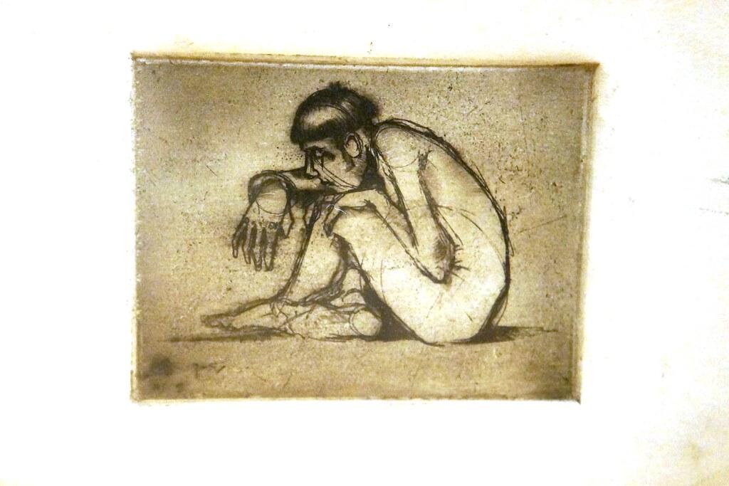 Art Sad Man Drawing
