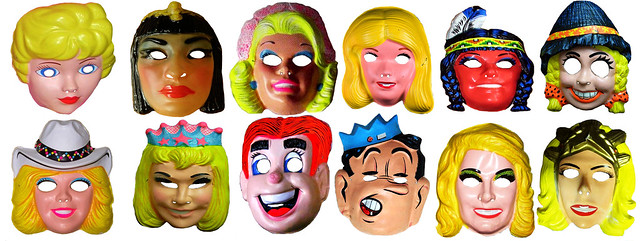 Archie - Jughead and Barbie Masks 7054