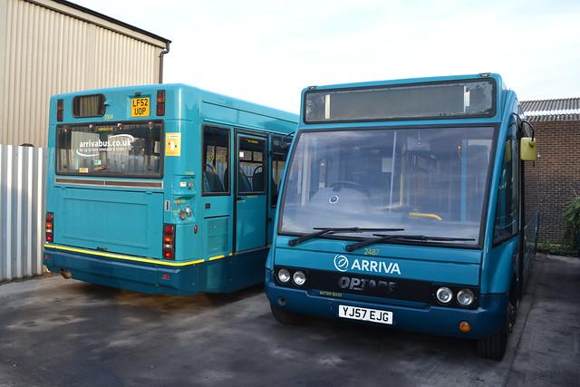 Arriva Shires & Essex 3504 LF52UOP & 2487 YJ57EJG