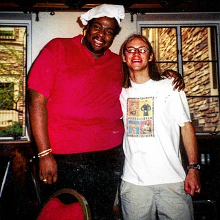 I moved to Boulder , Colorado18 years ago today. I have now lived here for the majority of my life and for the entirety of my adult life.  This is my home!  Yes, that is the REAL Chef from Southpark and one of my first friends in Boulder, Chef Willie Brad | by Kit Love Robertson