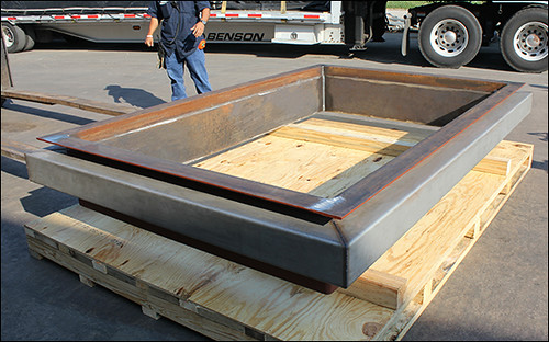 9' Rectangular Metallic Expansion Joint Designed for a Gas Turbine Facility