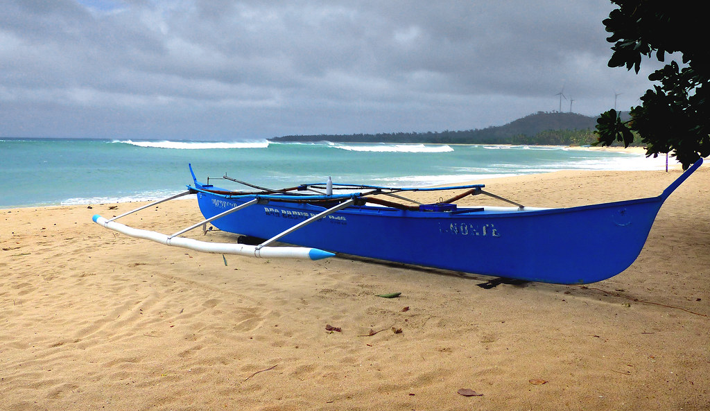 The Blue Banca. Philippines.