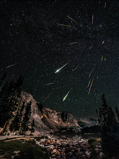 Snowy Range Perseids Meteor Shower | by David Kingham