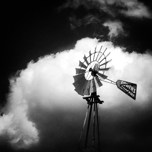 blackandwhite monochrome clouds windmills southernmaryland calvertcountymaryland 1755nikkor bwpolarizer bowensgrocery niksoftware nikond300 huntingtownmaryland calvertcountylandmarks citgogas mygearandme delishops mainstreetmaryland