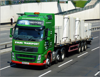 Evans Transport Ltd WA12AEY