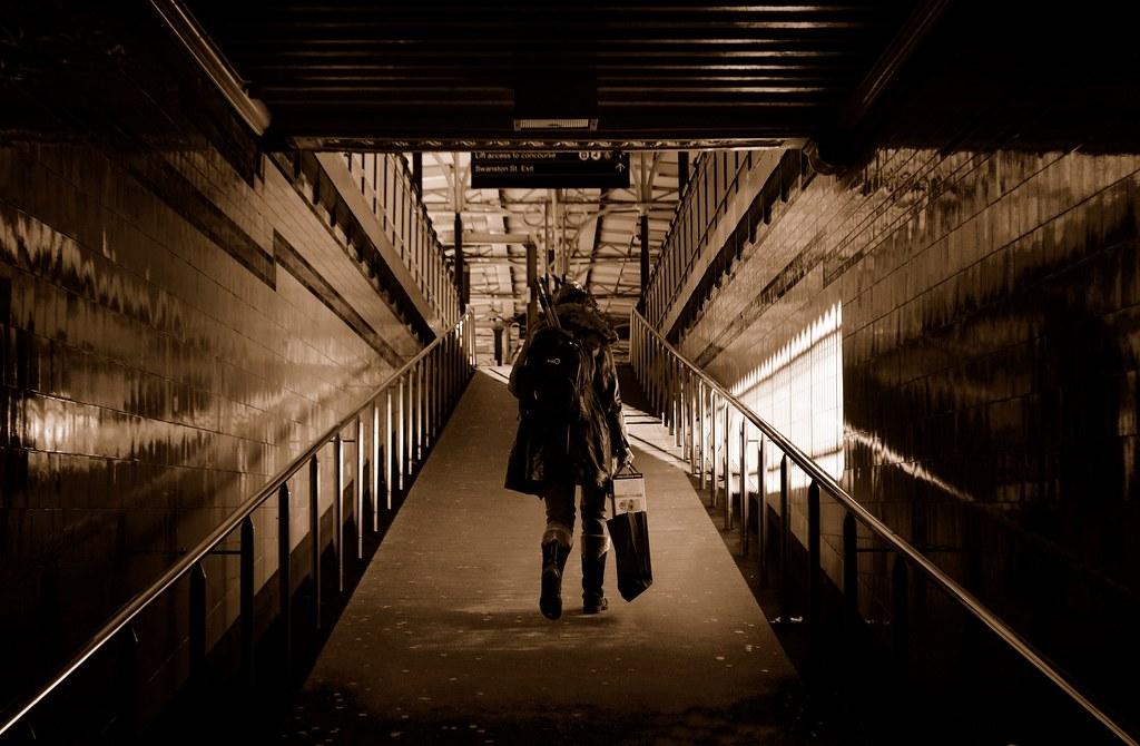 Subway ramp by phunnyfotos