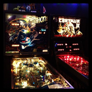 Pinball on a Saturday night