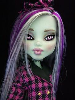 Buffy - Ooak monster high Frankie repaint | by Alison Borman