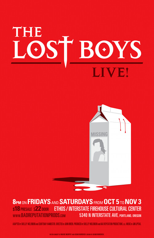 Lost Boys Live Poster Thenerdpatrol Flickr
