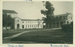Bridges Hall of Music and Rembrandt Hall in 1916