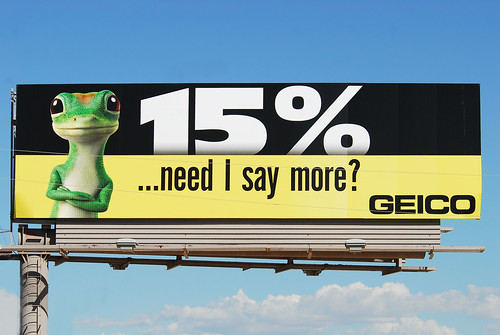 GEICO billboard - Santan Freeway Loop 202, Chandler, AZ