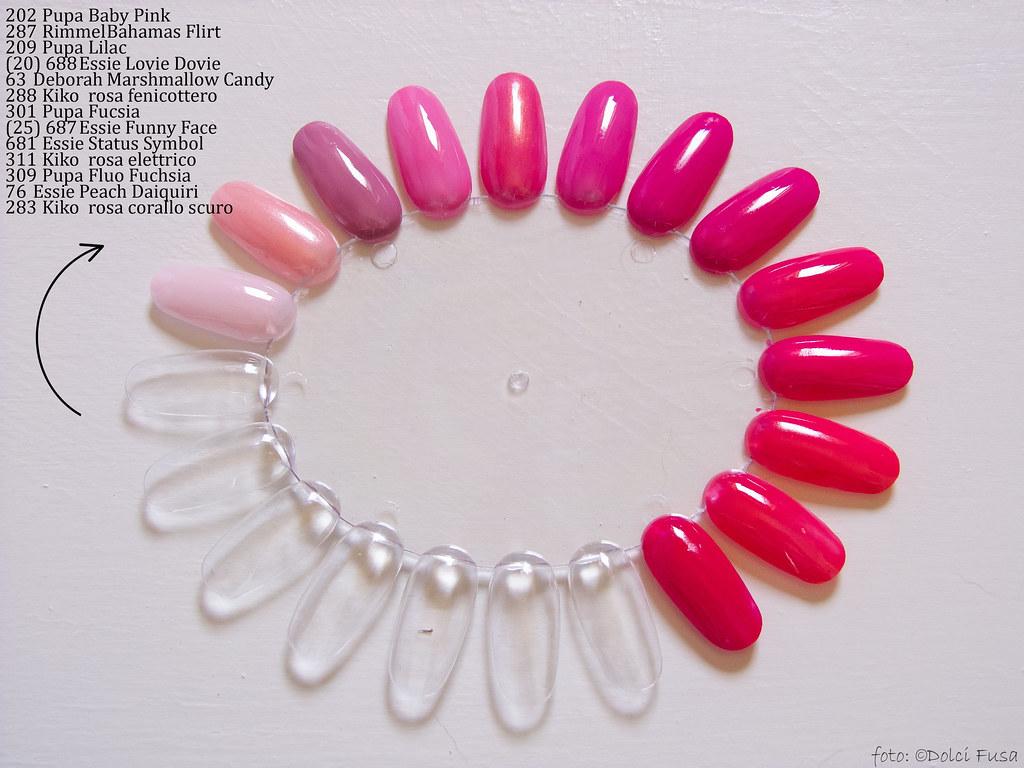 Color Wheels Pink 202 Pupa Baby Pink 287 Rimmel Bahamas Flickr