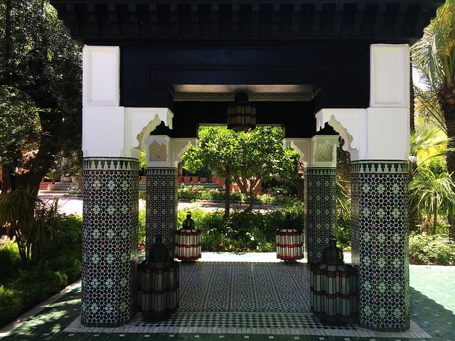 La Mamounia garden