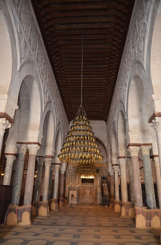 Kairouan, Great Mosque, central nave of prayer hall (1) | by Prof. Mortel