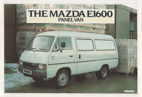 Mazda E1600 UK brochure scan | by Spottedlaurel