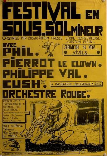 affiche festival sous-sol mineur   by lewally12
