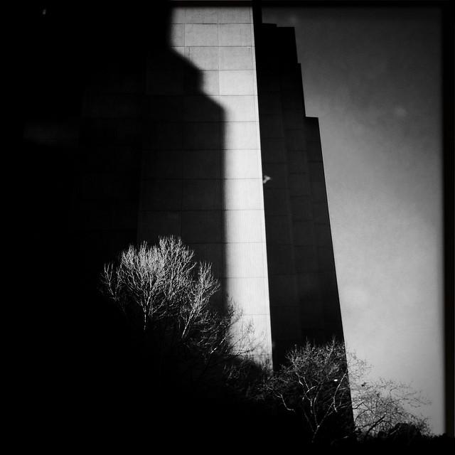 Some architectural brutalism, er, minimalism before bed