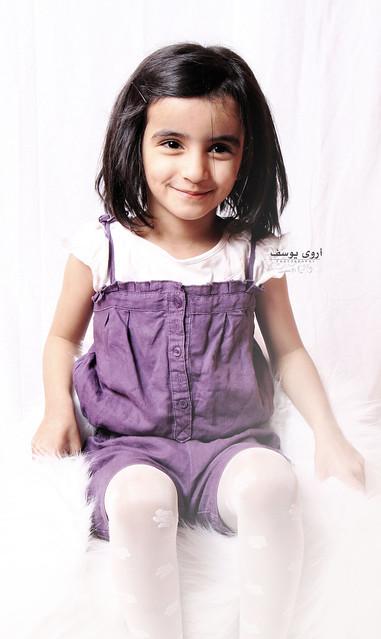 ماشاءالله-أحد الطفلات الي جونا بالإستديو