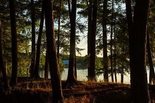 sunset silverlake easternontario lanarkcounty mvca mississipivalley