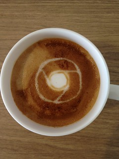 Today's latte, Google Chrome. | by yukop