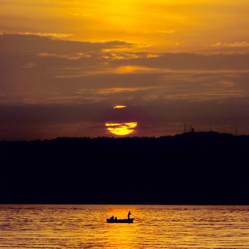 sunset sea sun bay algeria soleil zoom capital coucher algerie algiers baie platinumheartaward algerbaie dzayertamaneɣt