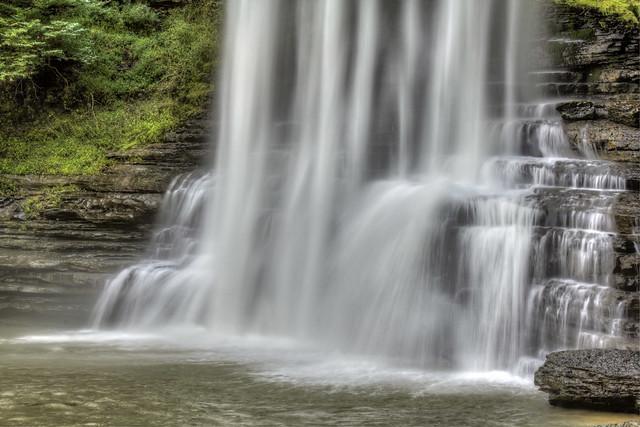 Fancher Falls detail, White Co, TN